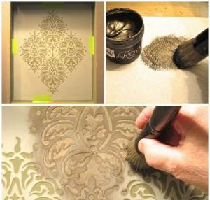 Stencil-Niche-with-stencil-creme-paints - Copy